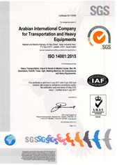 ISO 14001 for HE Division
