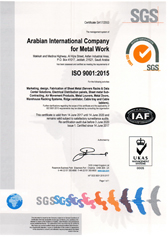 ISO 9001 for Metal Division